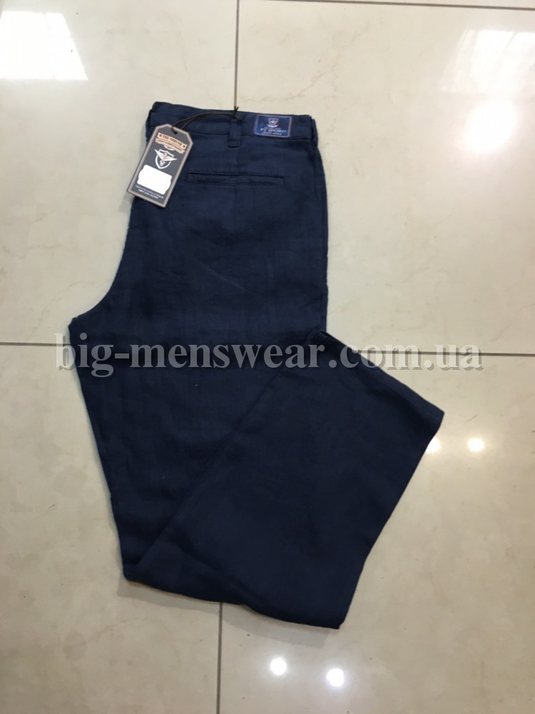 Льняные брюки мужские